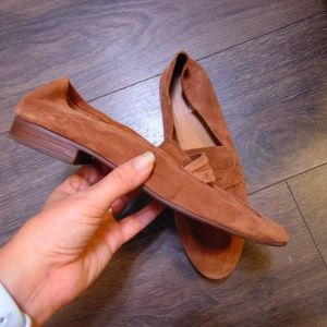 H&M Light Brown Suede Loafers